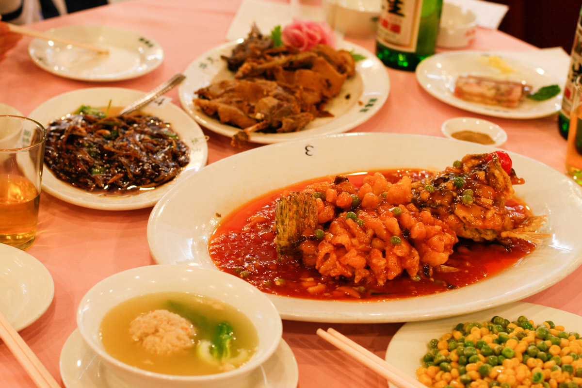 chinese restaurant meals