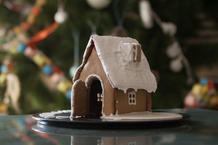 Пряничный домик Новый год Рождество
