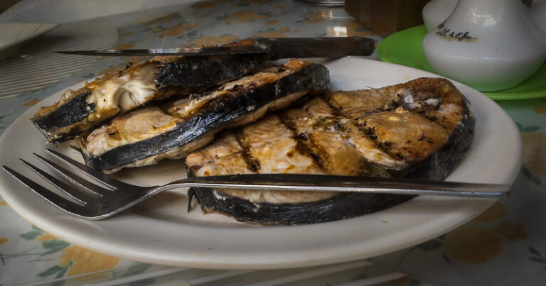 Fresh grilled fish, Boracay, Filippines