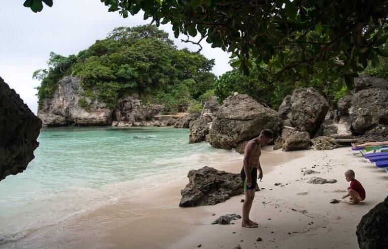 Balinghai hotel beach